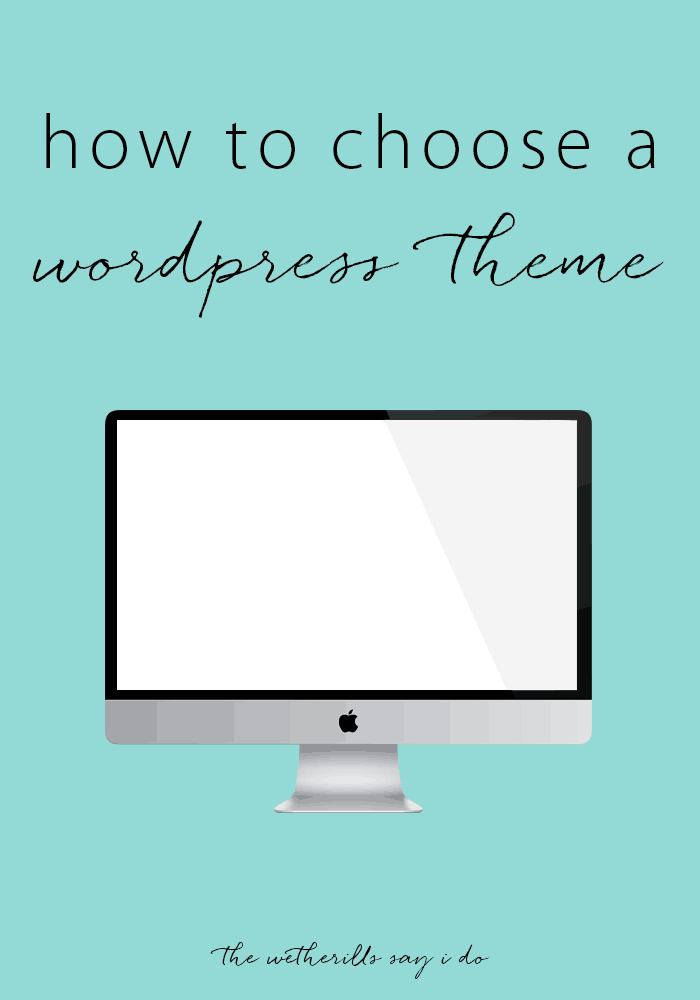 How To Choose The Style Of The: How To Choose A WordPress Theme