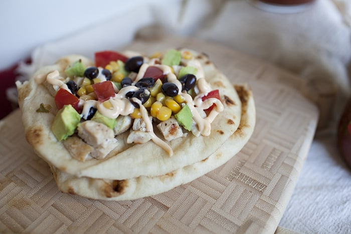 chicken-mexican-flatbread