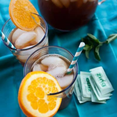 Orange + Mint Iced Tea Recipe