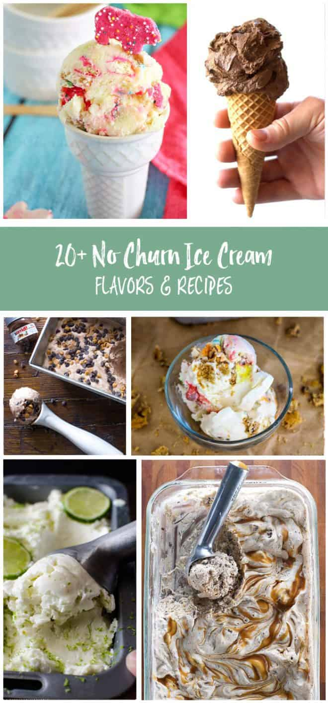 Try these no churn ice cream flavors! Some of the best ice cream recipes without an ice cream machine!