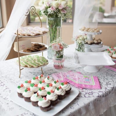 Pink and Tulle Baby Shower