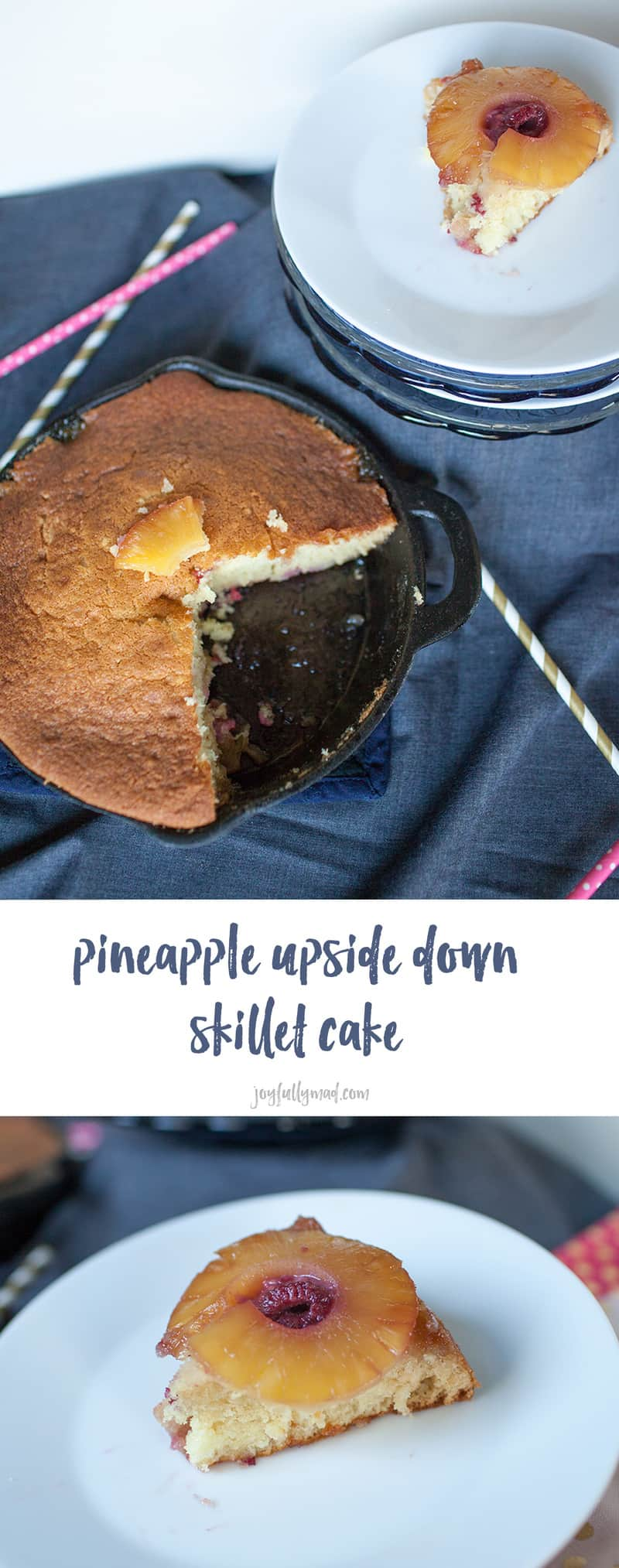 Thissuper easy dessert recipe is on that any one cake make.This classic pineapple upside down skillet cake is made in a cast iron skillet, giving it an extra rustic touch!
