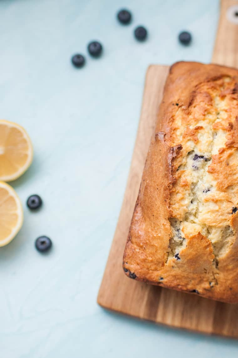 Lemon Blueberry Bread is the perfect brunch treat. This recipe takes a plain blueberry muffin mix and turns it into sweet, lemon blueberry bread with just a few additions.?