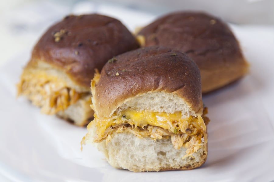 If you need a quick weeknight dinner, these chicken enchilada sliders are the perfect recipe to try. Shredded chicken plus homemade enchilada sauce makes this meal delicious!