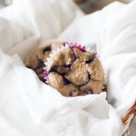 Healthy no sugar added blueberry muffins are the perfect treat. These muffins are sweetened naturally with dates and can be quickly thrown together using just your blender!