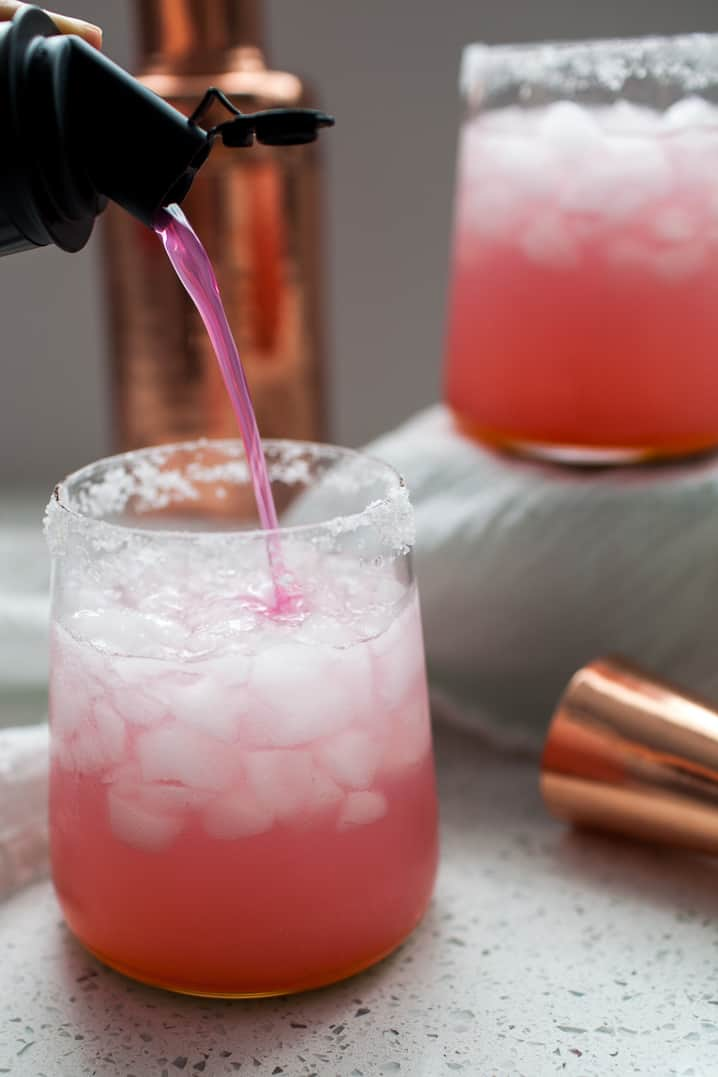 If you're looking for a perfect summer cocktail, this Prickly Pear Margarita is it. This margarita is sweet and so refreshing on a hot summer day. It's perfect for a barbecue, laying by the pool or Cinco de Mayo! cinco de mayo cocktail   cinco de mayo recipe   cinco de mayo drink   summer cocktail   summer drinks   drink recipes   tequila cocktails   arizona drinks   cactus   prickly pear margarita   margarita recipes