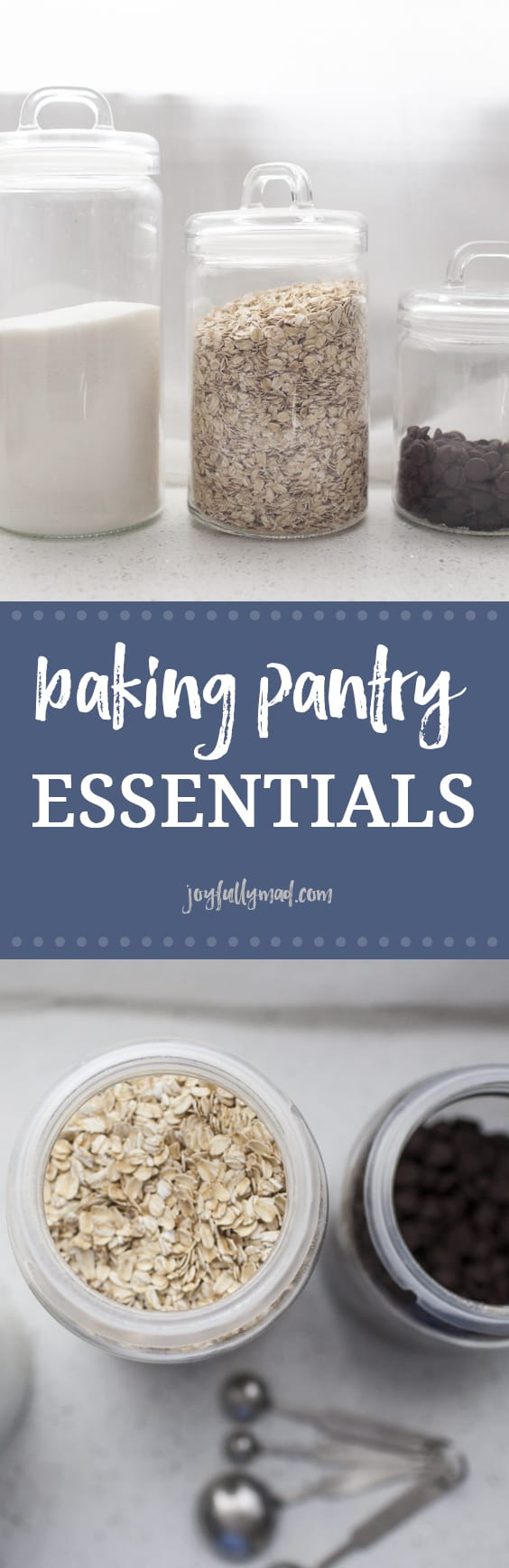 Whether you bake often or just once in a blue moon, there are some baking pantry essentials you should always have on hand to make sure that you?re able to bake everything from bread, to muffins, to cookies, whenever the mood strikes! These are the baking pantry essentials every kitchen should be stocked with!