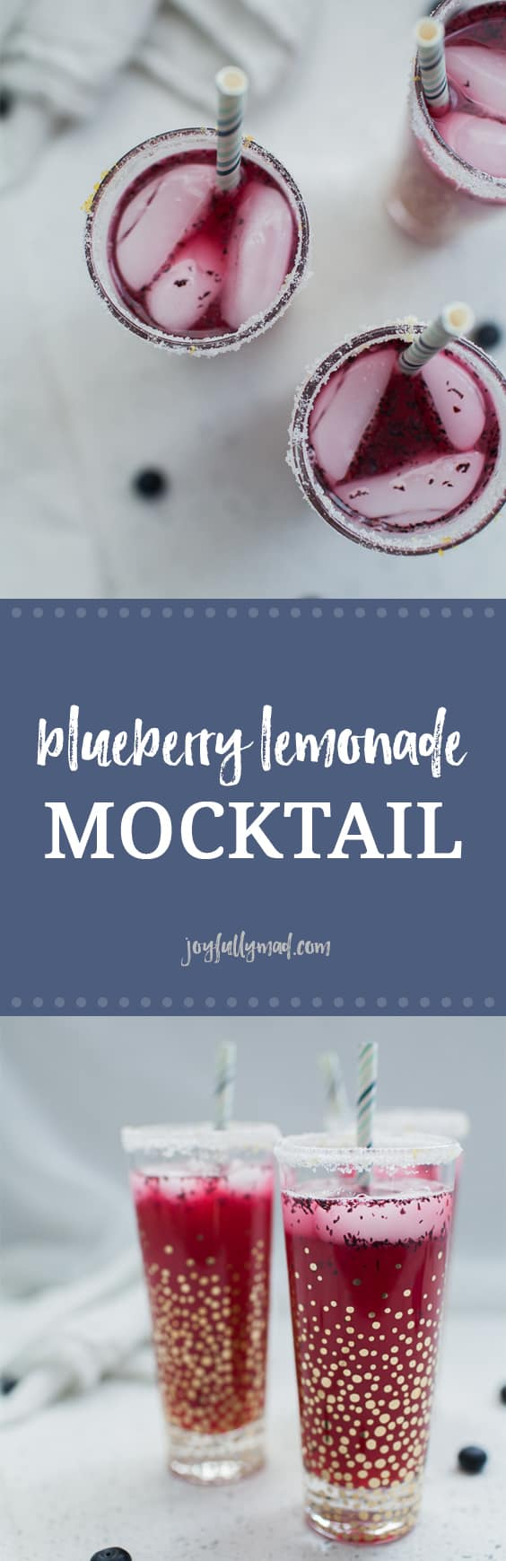 If you're looking for the perfect summer mocktail, this blueberry lemonade mocktail is sure to hit the spot! Whether you need a fancy drink for a party or just because, this blueberry lemonade mocktail is easy to make and has the perfect blend of tart and sweetness. blueberry lemonade | blueberry mocktail | blueberry drink | blueberry cocktail | mocktails | baby shower drink | party mocktail