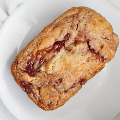 Strawberry Jam Quick Bread