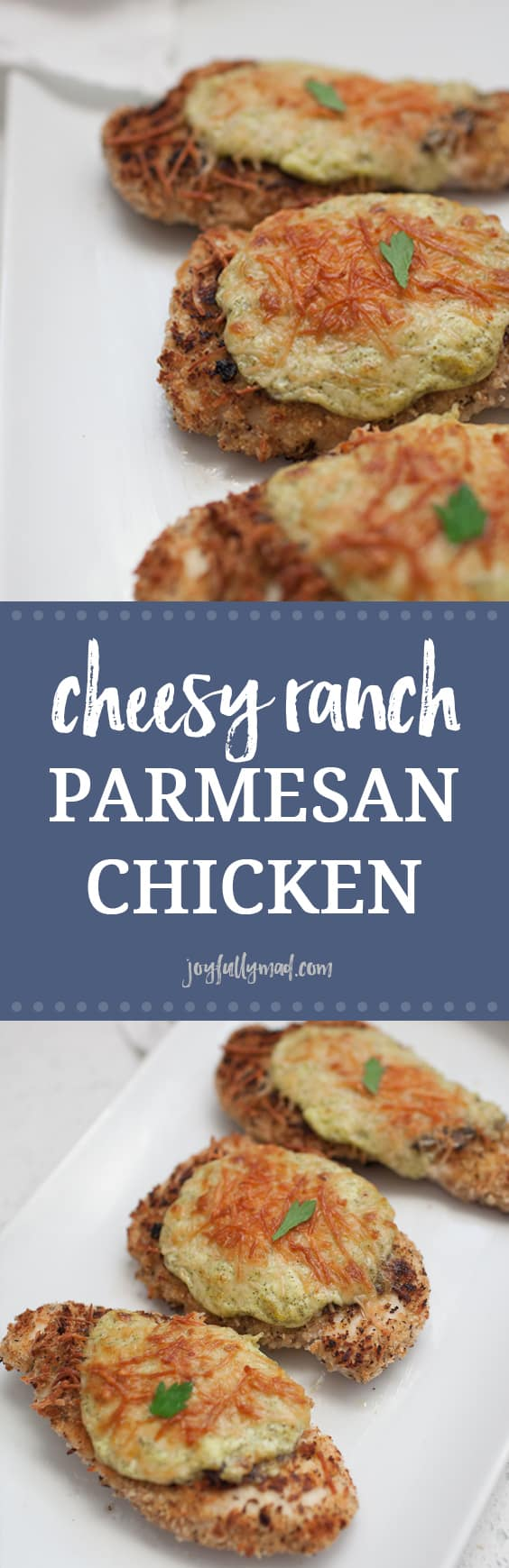 If you're looking for an easy weeknight dinner that feels a bit fancy, this Cheesy Ranch Parmesan Chicken is your solution! It's quick and packed with so much flavor. Your entire family will love this recipe!