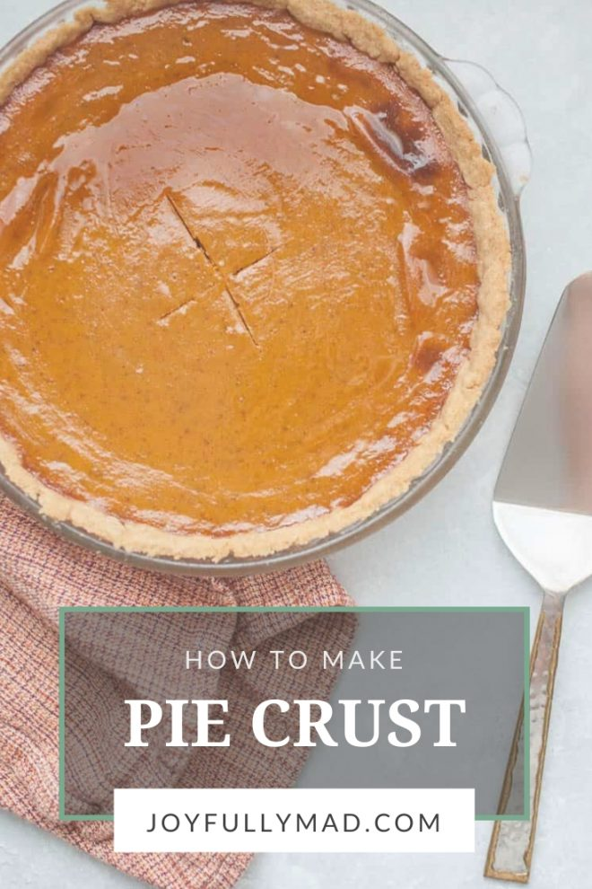 Homemade Holiday Pie Crust
