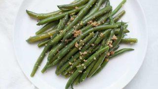 Garlic Brown Butter Green Beans