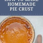 The holidays are right around the corner, which means it's time to plan those holiday pies! There's no better way than learning to make your own homemade holiday pie crust. With the right technique and ingredients, making pie crust from scratch can be done!?