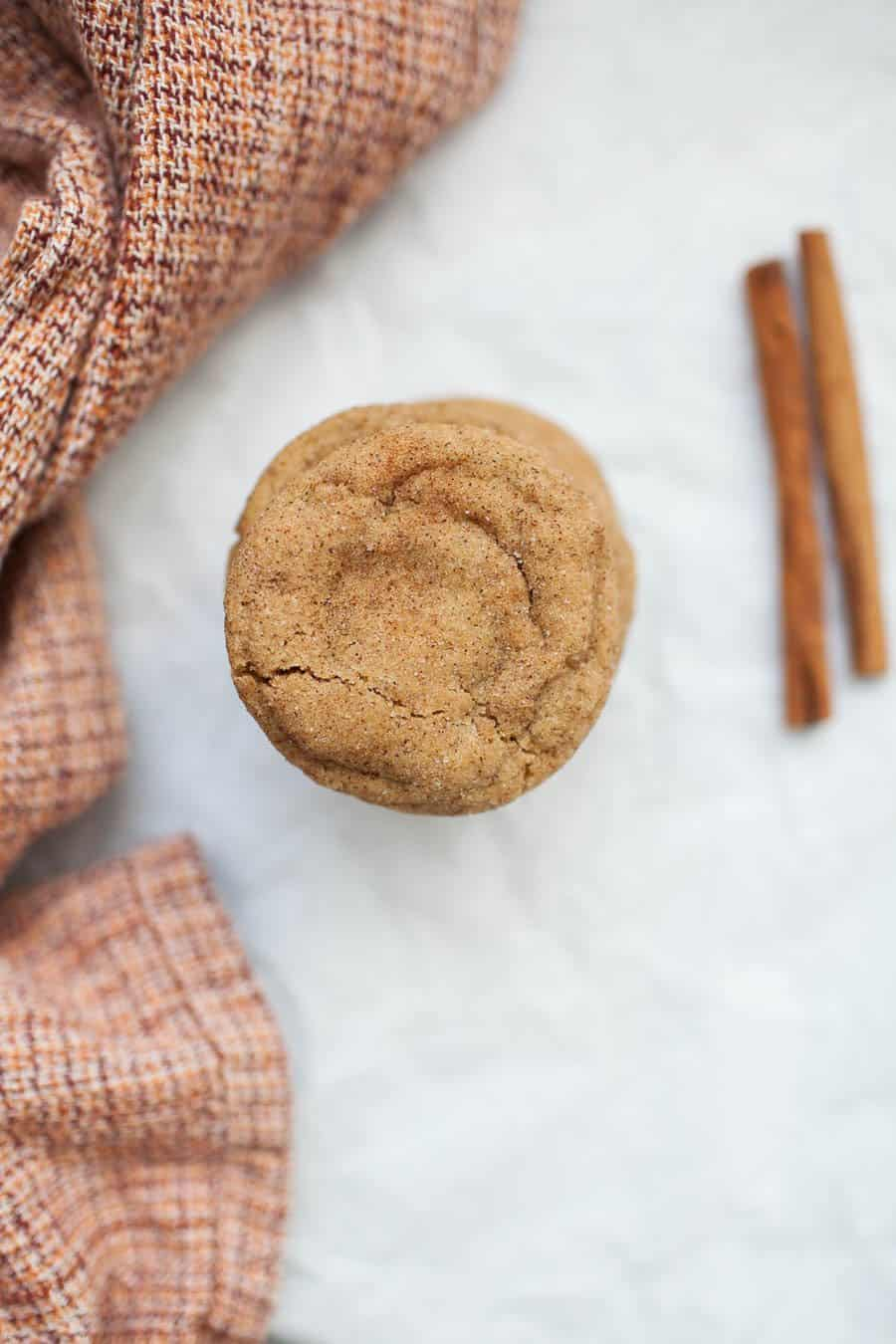 Ginger Molasses Snickerdoodles are the perfect holiday sweet! These ginger molasses cookies will remind you of the taste of gingerbread cookies, with the soft chewy texture that snickerdoodles are known for. These cookies are so simple to make and share with friends at your next holiday party!?