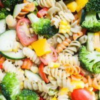 Vegetarian Pasta Salad Without Mayo