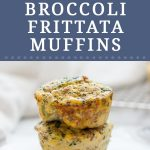 Looking for a make ahead breakfast that you can meal prep for this week? These Turkey Broccoli Frittata Muffins are the solution. Packed with flavor and protein, these muffins are so quick to make ahead and have ready to go. These make ahead egg muffins are made with eggs, ground turkey, broccoli and milk and are perfect for jump starting your week.