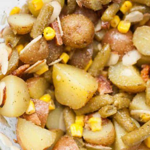 Bacon Herb Potato Salad Without Mayo