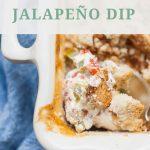 Cream Cheese Jalapeno Dip
